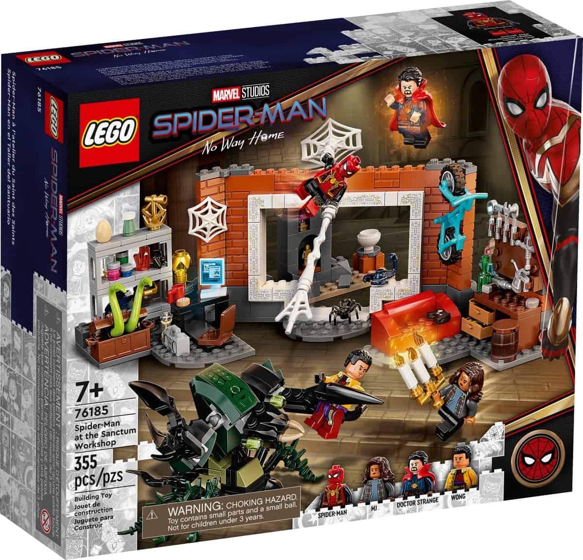 lego 76185 spider man na oficina sanctum