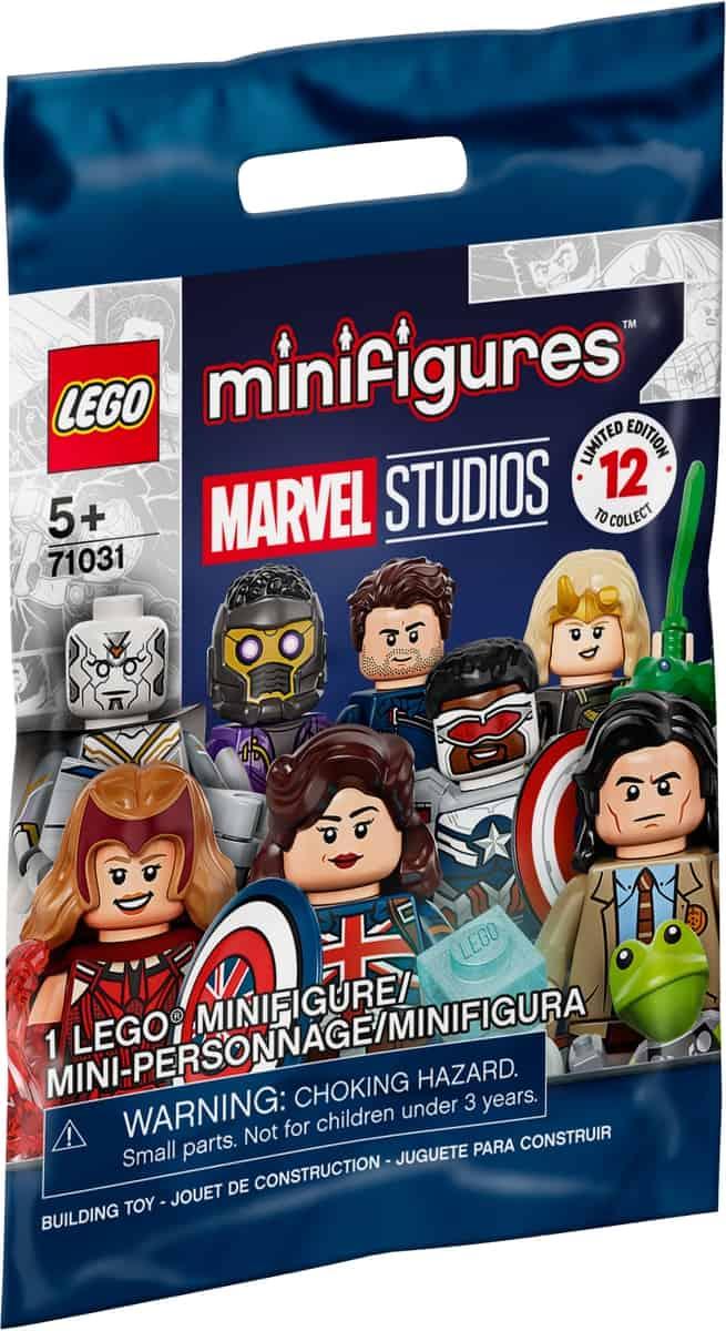 minifiguras lego 71031 marvel studios