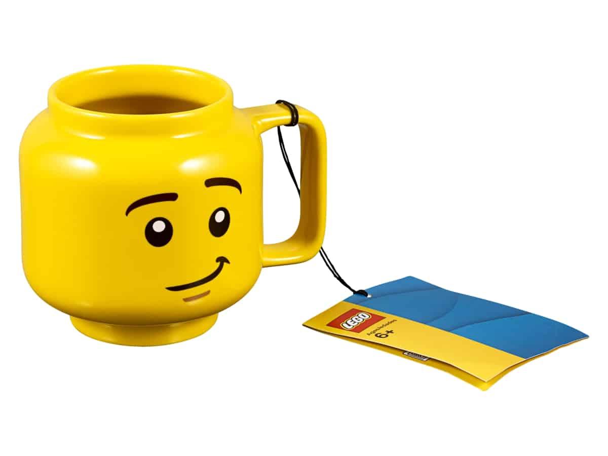 caneca de ceramica minifigura lego 853910