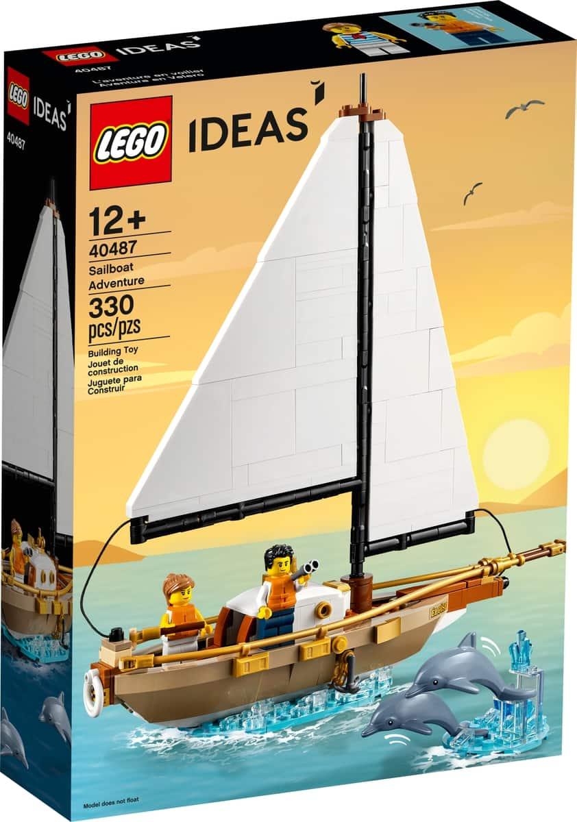 lego 40487 aventura em barco a vela