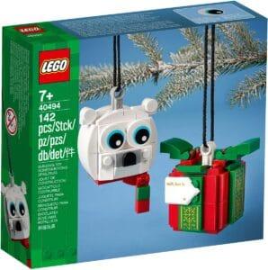 lego 40494 pack urso polar e presente