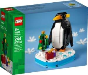 lego 40498 pinguim de natal