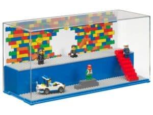 lego 5006157 caixa para brincar e exibir azul