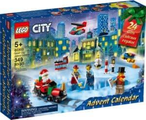 lego 60303 city calendario do advento