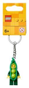 lego 854080 porta chaves rapariga ervilha