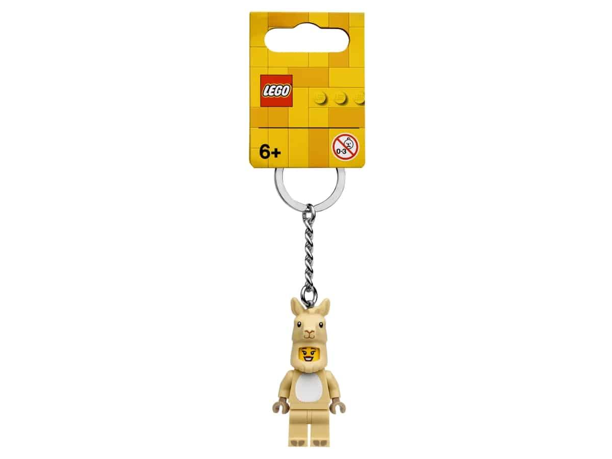 lego 854081 porta chaves rapariga lama