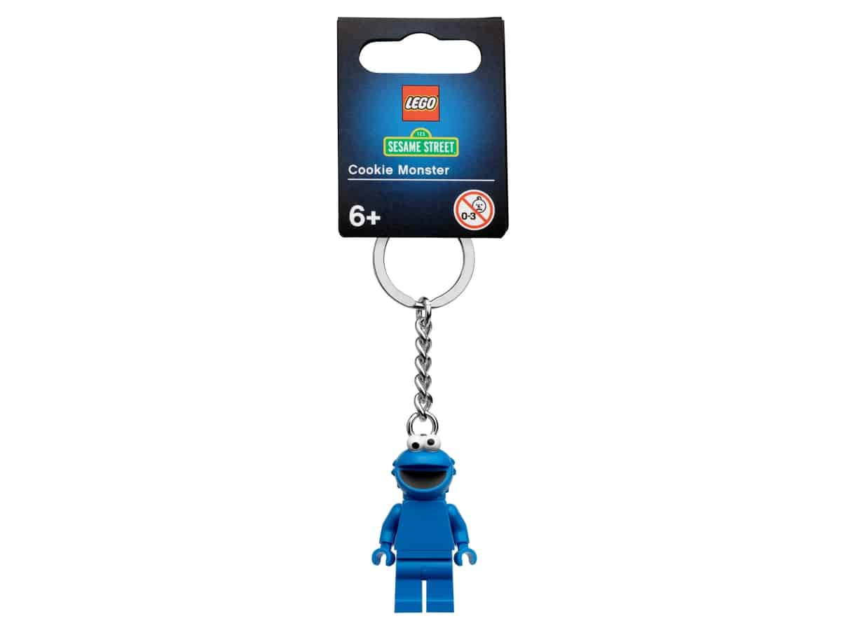 lego 854146 porta chaves cookie monster
