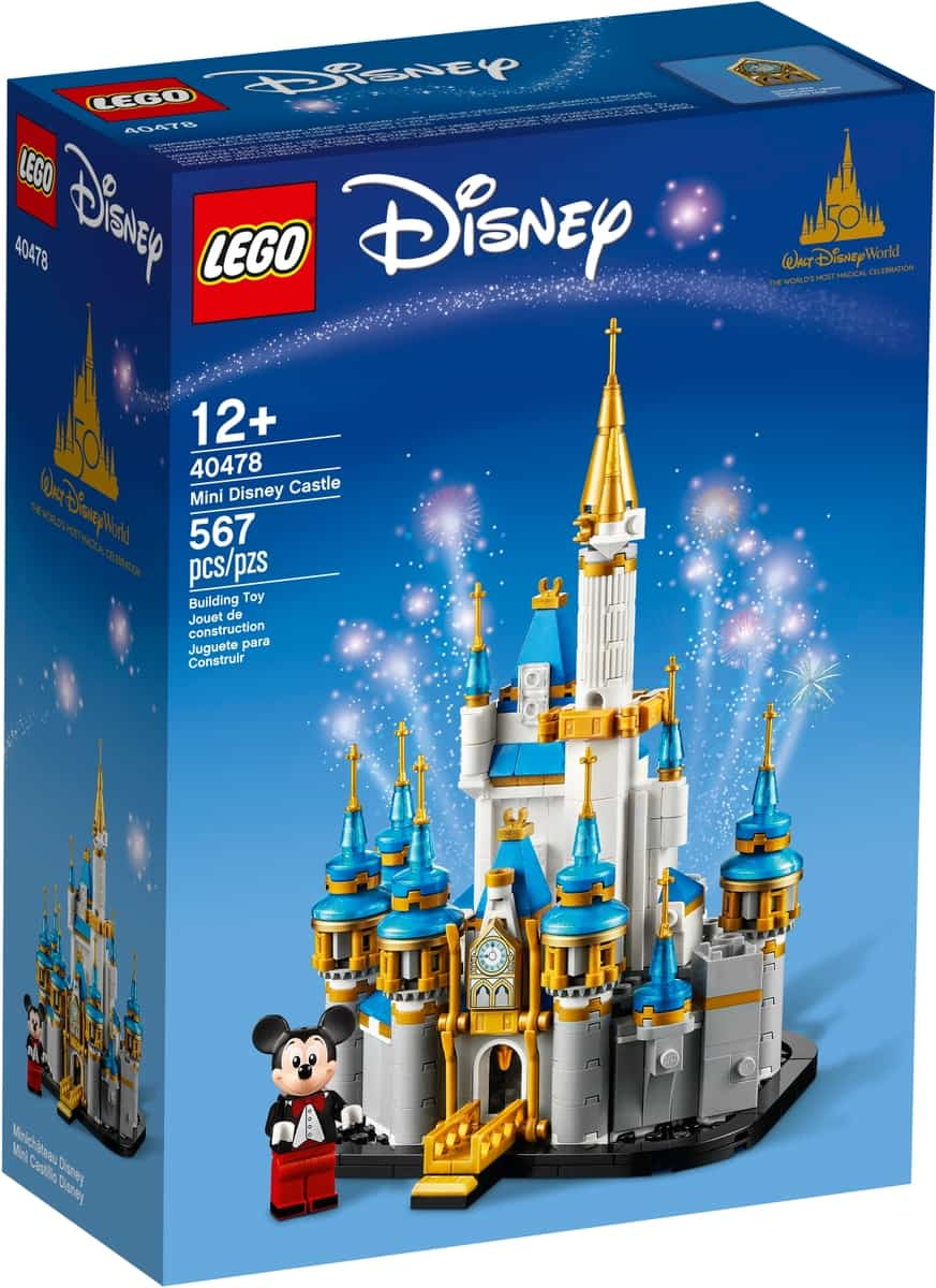 lego 40478 mini castelo disney