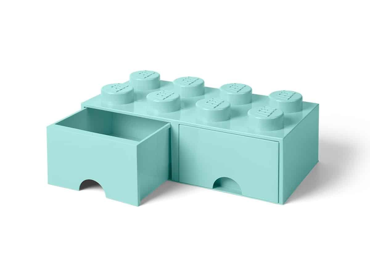 lego 5006182 pea gaveta 8 espigas azul gua