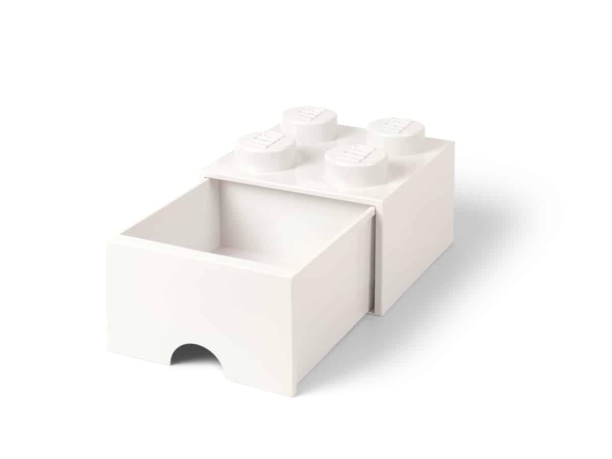lego 5006208 pea gaveta 4 espigas branco