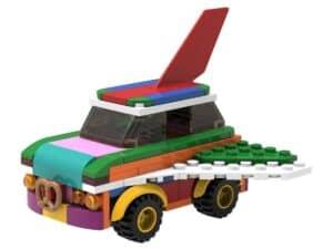 lego 5006890 carro voador para reconstruir