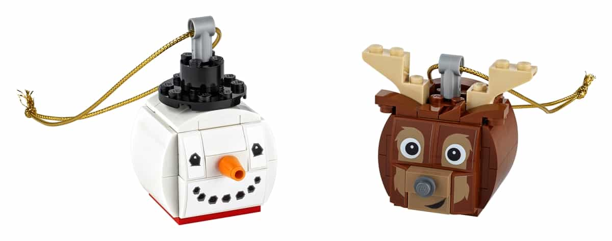 lego 854050 duo de boneco de neve e rena