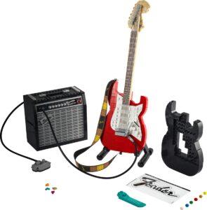 lego jq8bjjddg5 ideas fender stratocaster 21329
